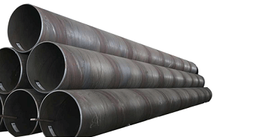 Spiral steel pipe stacking principle requirements